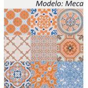 Meca - Kit 18 Adesivos 15x15 cm