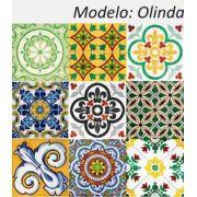 Olinda- Kit 18 Adesivos 15x15 cm