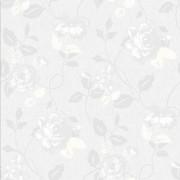 Papel De Parede Floral Importado Vinílico Texturizado La5071