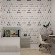Papel de Parede Infantil Triângulos - Modelo LA5037