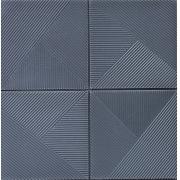 PLACA 3D ESPUMA SOFT P24 CINZA 70X70 5MM