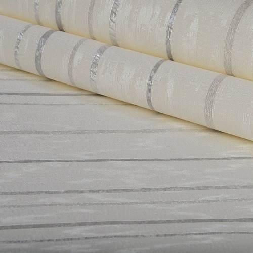 Papel De Parede Listrado Importado Vinílico - K939
