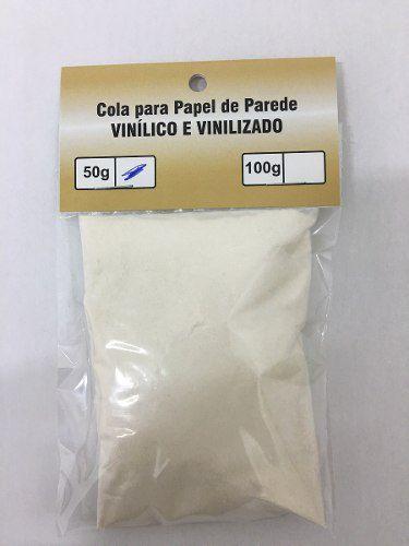 Cola Em Pó 50g Para Papel De Parede