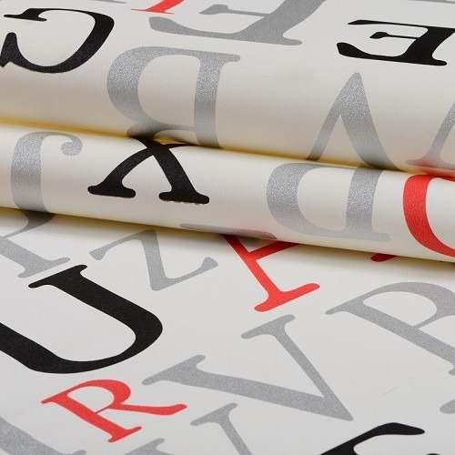 Papel De Parede Letras Infantil Menina Menino K618