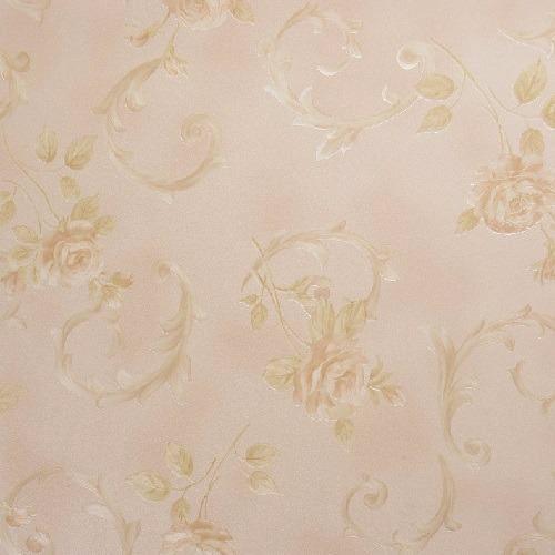 Papel De Parede Floral Importado Vinílico - K802