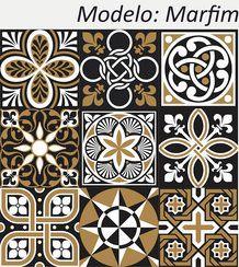 Marfim - Kit 18 Adesivos 15x15 cm