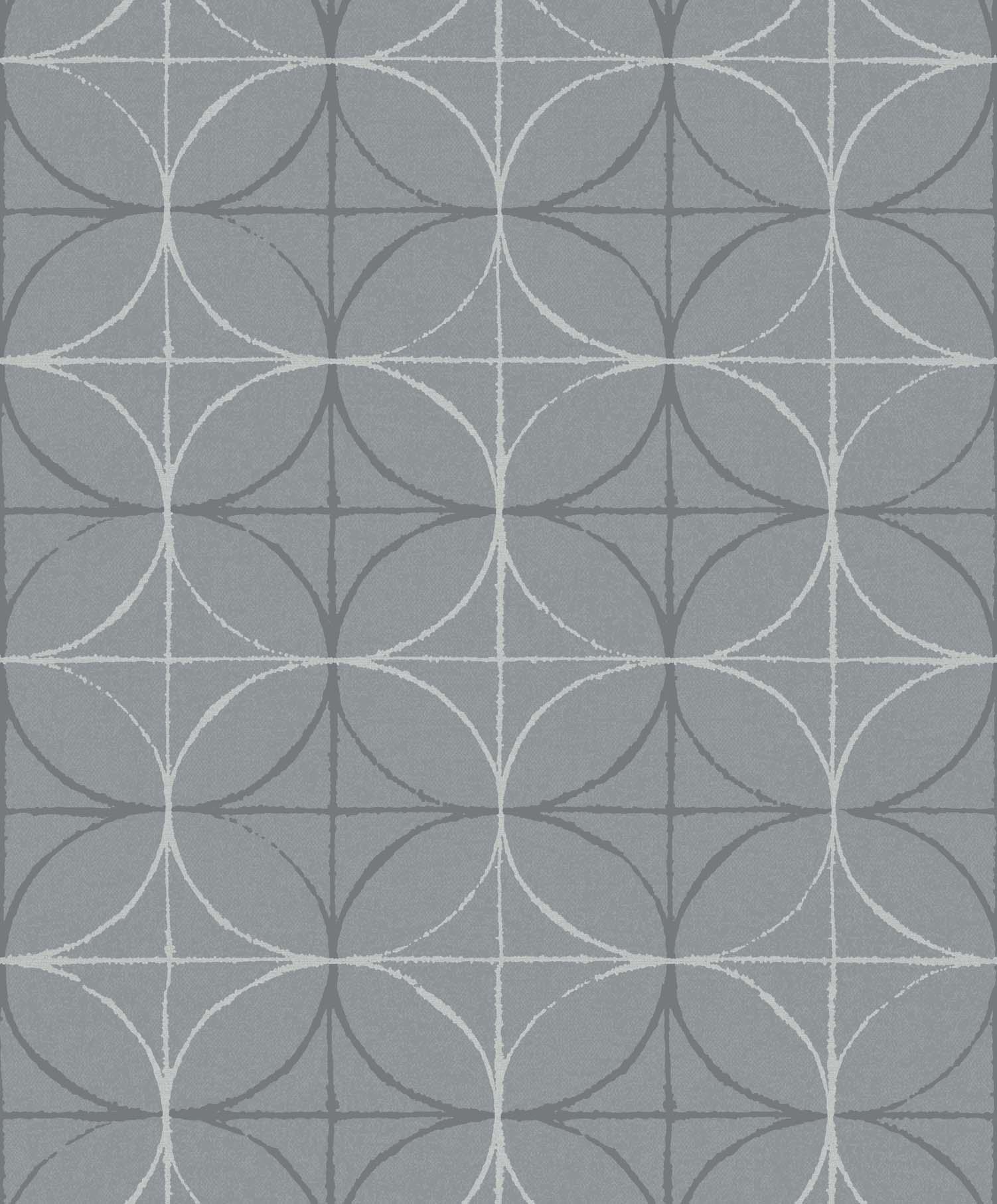 Papel De Parede Cinza Geométrico 3d Importado La5066