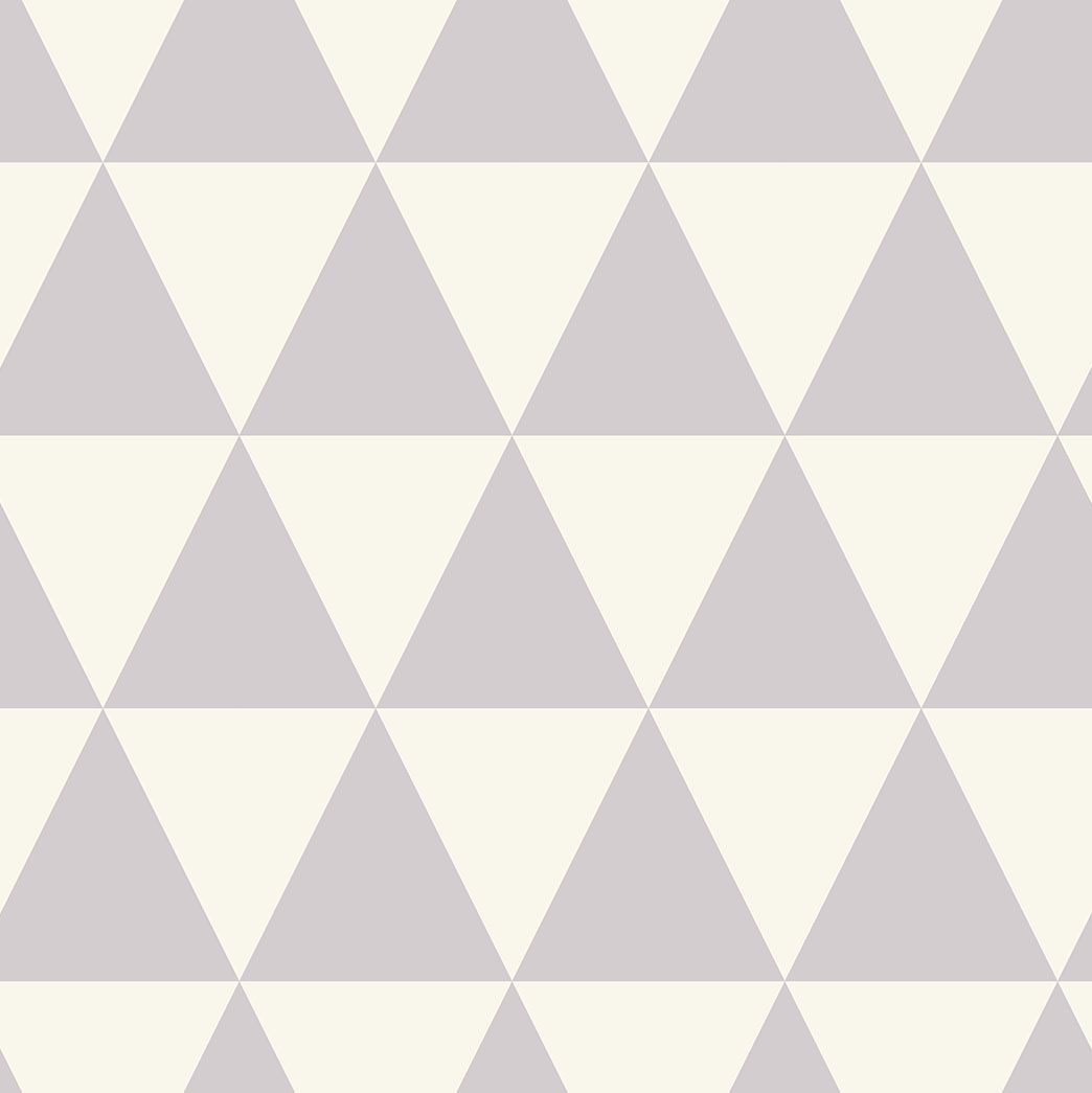 Papel De Parede Quarto Infantil Triângulos Importado La5038