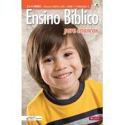 Ensino Bíblico Kids - 3 a 4 anos - Ano 1 Trimestre 2 - Recursos Didáticos