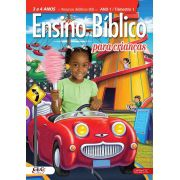 Ensino Bíblico Kids - 3 e 4 anos - Ano 1 Trimestre 1 - Revista do Aluno