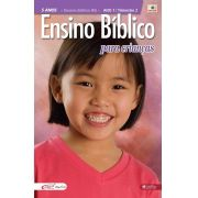 Ensino Bíblico Kids - 5 anos - Ano 1 Trimestre 2 - Revista do Aluno