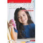 Ensino Bíblico Kids - 8 a 9 anos - Ano 1 Trimestre 2 - Revista do Aluno