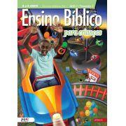 Ensino Bíblico Kids - 8 e 9 anos - Ano 1 Trimestre 1 - Revista do Aluno