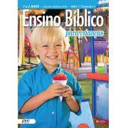 Kit 2 Ensino Bíblico Kids - 1 e 2 anos - Ano 1 Trimestre 1