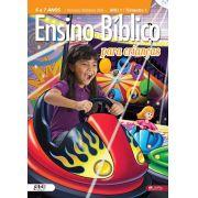 Kit 5 - Ensino Bíblico Kids - 6 e 7 anos - Ano 1 Trimestre 1