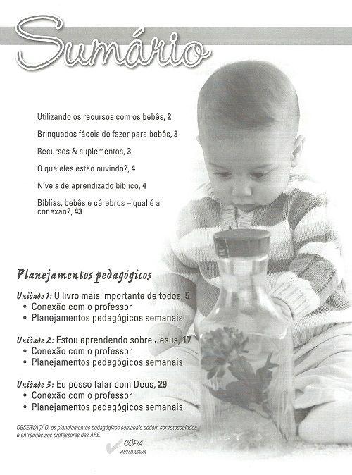 Ensino Bíblico Kids - 0 a 12 meses - Ano 1 Trimestre 2 - Revista do Professor