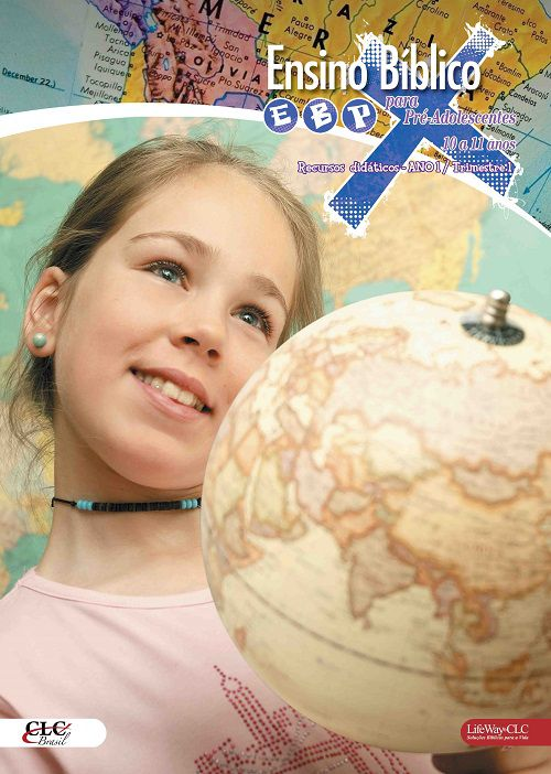 Kit 7 - Ensino Bíblico Kids - Ano 1 Trimestre 1  - 10 e 11 anos