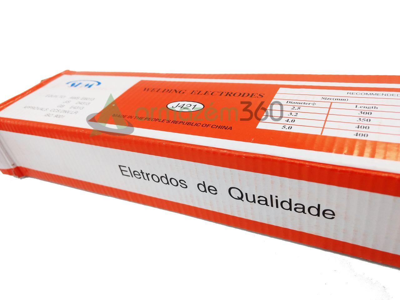 Eletrodo E6013 3,2 x 350mm