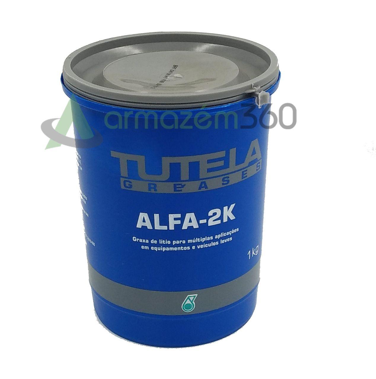 Graxa De Rolamento Tutela Greases Alfa-2k