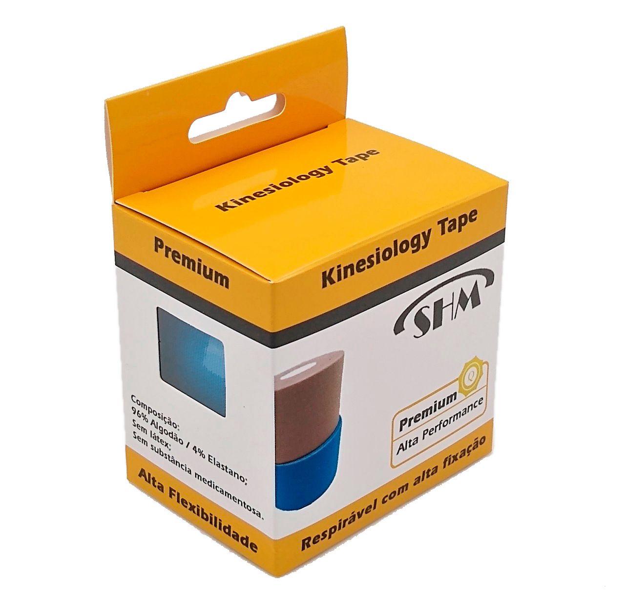 Kinesio Tape Shm Premium - Alta Performance