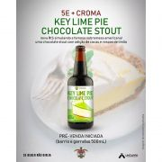 Cerveja 5 Elementos Key Lime Pie Chocolate Stout 500 ml