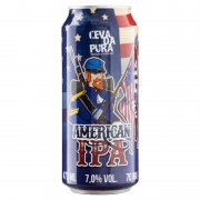 Cerveja Cevada Pura American IPA Lata 473 ml