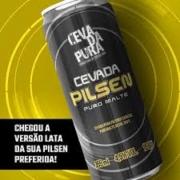 Cerveja Cevada Pura Pilsen Puro Malte Lata 355 ml