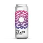 Cerveja Croma Waves com Goiaba e Uva Bordo Lata 473 ml