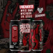 Cerveja Demonho Cascata de Sangue Lata 473 ml