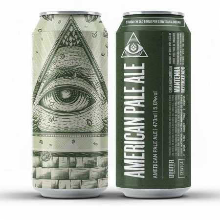 Cerveja Dogma American Pale Ale Lata 473 ml