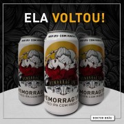 Cerveja Doktor Brau Hemorragipa Lata 473 ml