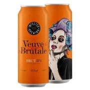 Cerveja Infected Brewing Veuve Brutale Brut Ipa lata 473 ml