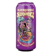 Cerveja Juan Caloto Alucinaciones de Suquidez Lata 473 ml - Apenas para SP
