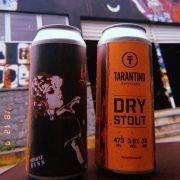 Cerveja Tarantino Dry Stout Lata 473 ml