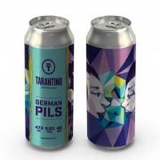 Cerveja Tarantino German Pils Lata 473 ml