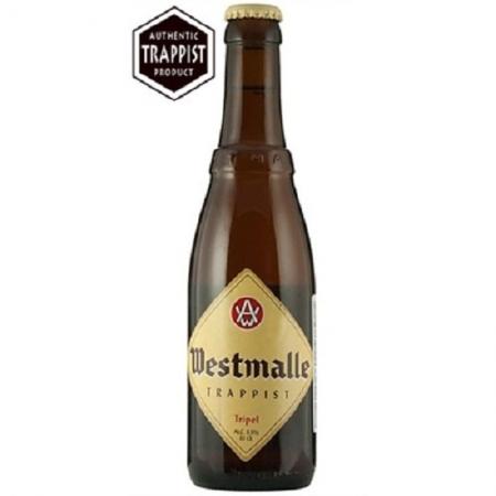 Cerveja Trapista Westmalle Tripel 330 ml