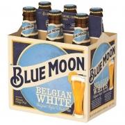 Kit 1 Pack com 6 Cervejas Blue Moon Witbier 355 ml