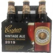 Kit 1 Pack com 6 Cervejas Coopers 2019 Vintage Ale 355 ml