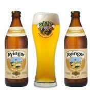 Kit de Cerveja Ayinger Urweisse com Copo Weizen Gratuito
