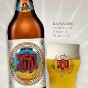 Kit de Cerveja Dama Bier 250 com Copo Pint 280 ml