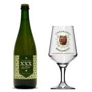 Kit de Cerveja De Ranke XXX Bitter 750 ml com Taça Hallertau 400 ml