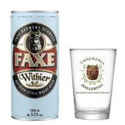 Kit de Cerveja Faxe Witbier 1 Litro com Copo Hallertau 350 ml