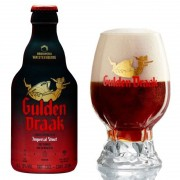 Kit de Cerveja Gulden Draak Imperial Stout com Copo 330 ml