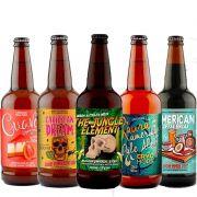 Kit de Cervejas 5 Elementos com 5 Rótulos