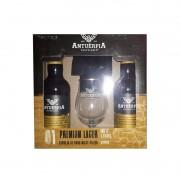 Kit de Cervejas Antuérpia Premium Lager com Taça