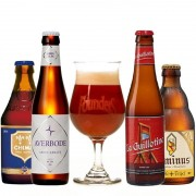 Kit de Cervejas Belgas com Taça Founders Blushing Monk