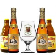 Kit de Cervejas Belgian Blond Ale com Taça Hallertau 400 ml