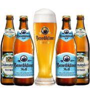 Kit de Cervejas Benediktiner e Weihenstephan Copo Gratuito