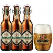Kit de Cervejas Bernard com Caneca