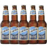 Kit de Cervejas Blue Moon Contendo 5 Rótulos